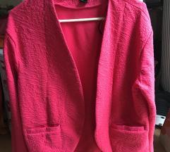 H&M pink kardigan