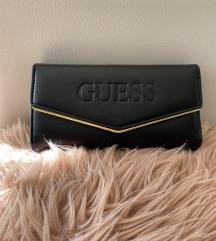 Új Guess arany fekete női pénztárca