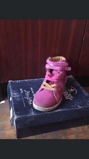 Devergő hosszú szárú cipő