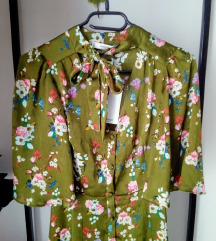 Új címkés Mango sálgalléros ruha XS