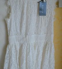 Új, cimkés fehér, Mohito csipke ruha