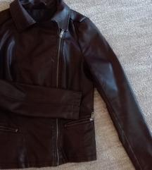 S-es műbőr kabát