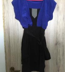 Kék fekete ruha