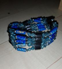 Új kék mágneses karkötő (csere is)