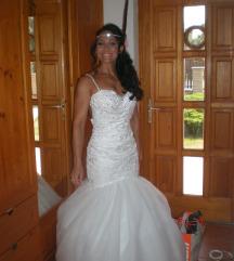 Gyönyörű, egyedi menyasszonyi ruha eladó