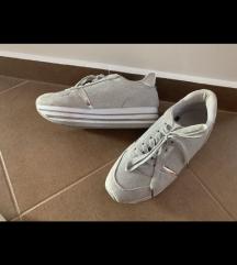 39-es ezüst/szürke sneaker
