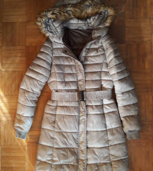 Őszi bézs kabát