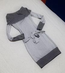 🎀 Ezüstös ruha S-es 🎀