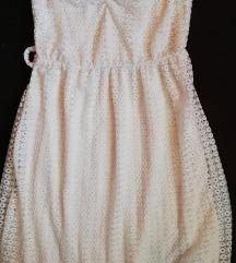 Csikés fehér ruha