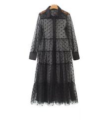 Átlátszó ing 🖤 Strandruha (Zara stílusu)
