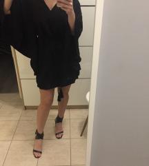 H&M fekete mini ruha