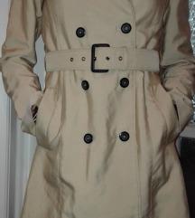 ZARA ballonkabát ballon kabát drapp S 36