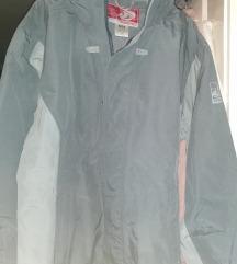 L-es szürke decathlonos férfi kabát