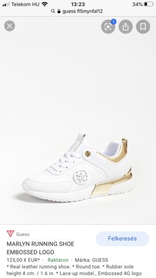 GUESS cipő 38 sportcipő sneakers