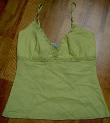 zöldes citrom sárga rövid nyári top