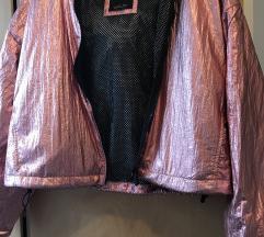 metál rózgold szinű bershka kabátom (nem cserés)