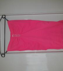 Csini strasszos pink top/tunika