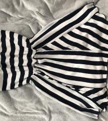 Bershka csíkos nyári ruha