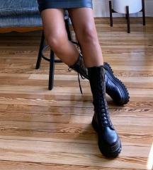 Zara valódi bőr csizma 36