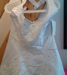 Gyönyörű Menyasszonyi-Szalagavató ruha! 46-os