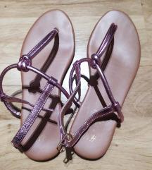 H&M csillogós rózsaszín szandál