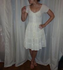 Törtfehér pamut ruha 34/36