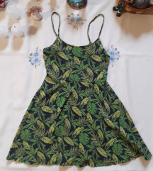 Zöld-citrom kisruha/tunika