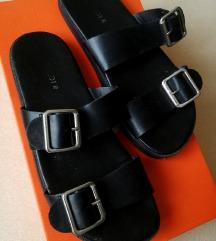 h&m fekete papucs