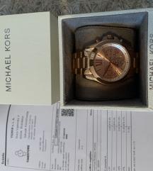 MK Bradshaw 5503 új rosegold óra számlával