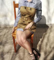 Új ZARA Cotton Shirt Dress