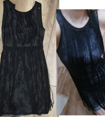fekete rojtos S ruha