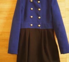 Kék-Fekete Zara kabát