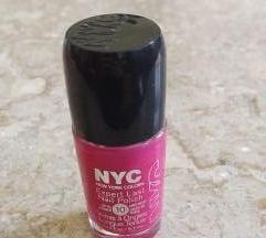 NYC pink körömlakk