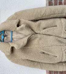 H&M teddy kabát