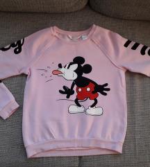 H&M Mickey pulóver 146-152