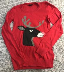 Lányka karácsonyi pulóver