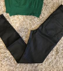 Fekete viaszolt nadrág