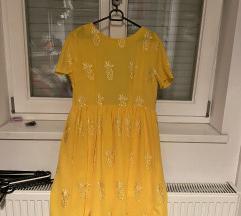 ÚJ || sárga ananászos ruha
