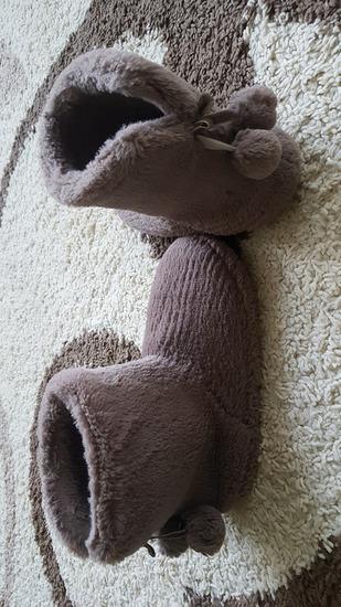 Puha barna szobapapucs