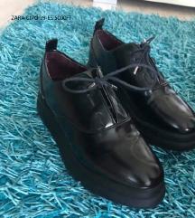 ZARA lakk cipő új
