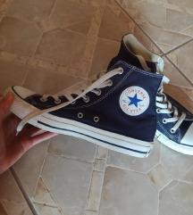 Kék magasszárú Converse cipő