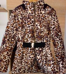 M-L méretű H&M párduc mintás kabát eladó