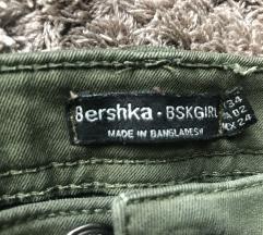 Bershka khaki nadrág