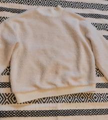 Új pulcsi  szőrmés S