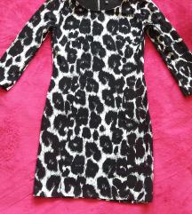 Fekete fehér H&M ruha 38 M