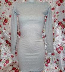 Új szürke csinos ruha S méret
