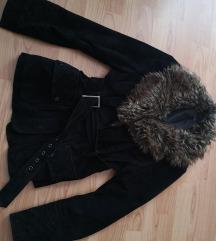 F&F átmeneti, elegáns bőr kabát