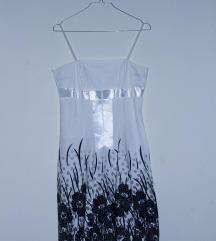 Fehér virágos nyári ruha
