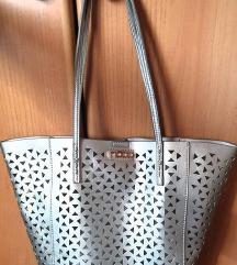 NOBO ezüst színű női táska válltáska kézitáska