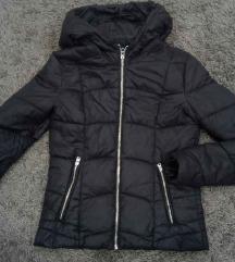 ÚJ,Berska fekete pufi kabát XS-S